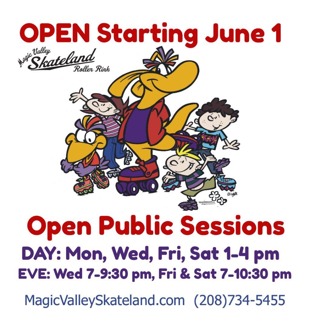 Open Starting June !