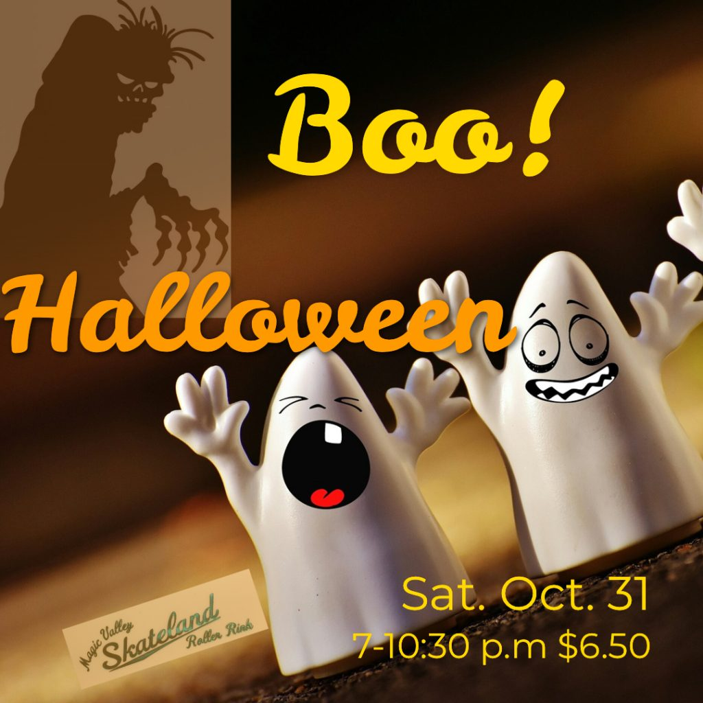 Halloween Party Oct. 31 7-10:30 pm